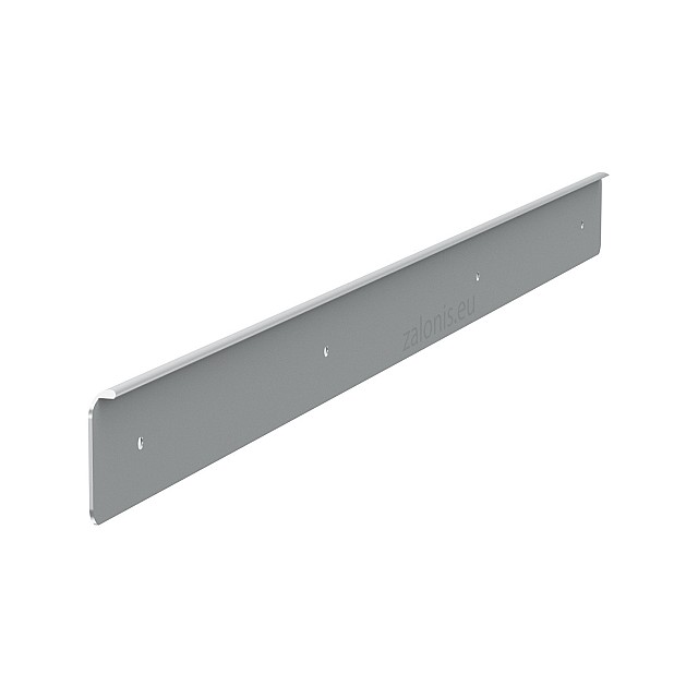 KITCHEN WORKTOPS PRAXITELIS ALUMINIUM END CAP WITH HOLES / 4x64cm