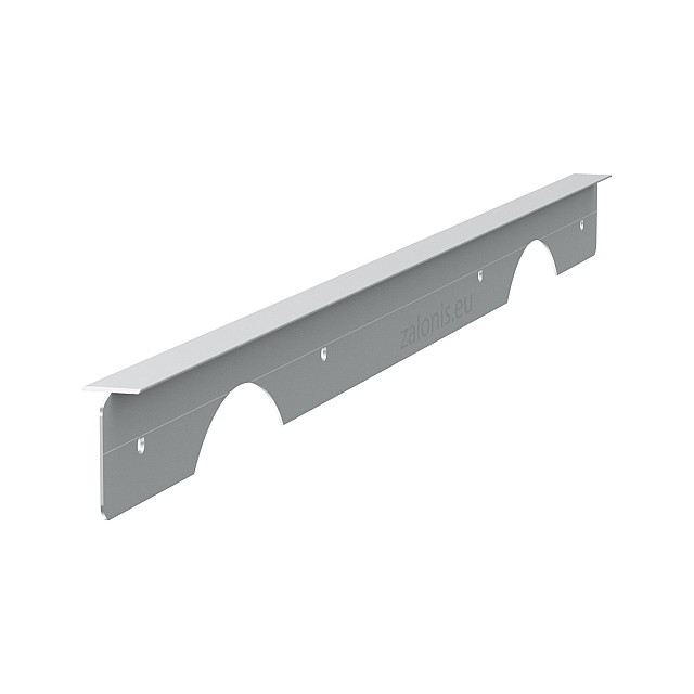 KITCHEN WORKTOPS PRAXITELIS ALUMINIUM T-SHAPE JOINING STRIP / 4x64cm