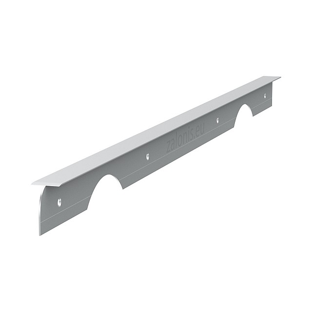 KITCHEN WORKTOPS ALUMINIUM JOINING STRIP / 3x63cm