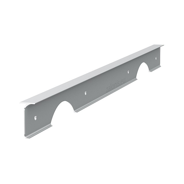 KITCHEN WORKTOPS PRAXITELIS ALUMINIUM CORNER JOINT / 4x64cm