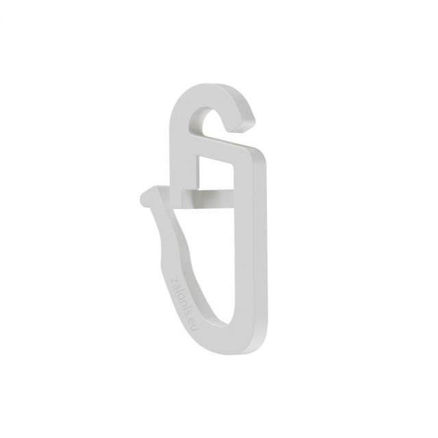 CURTAIN CLIP / WHITE