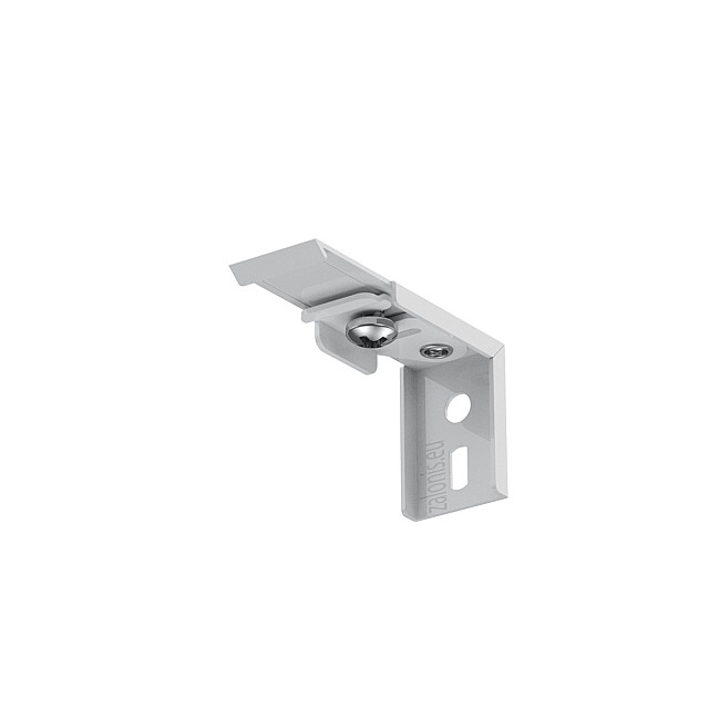 WALL BRACKET FOR ONE SINGLE CURTAIN RAIL