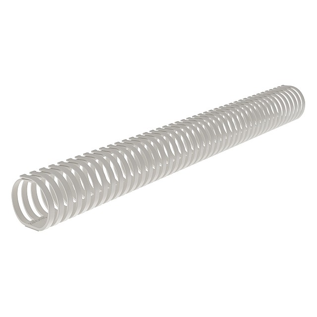SELF-ADHESIVE SPIRAL CABLE HOLDER D.50 / WHITE