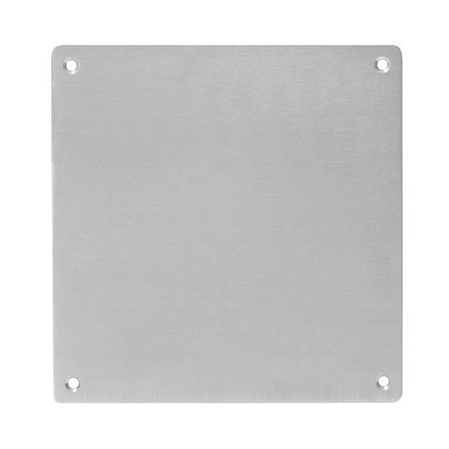 STAINLESS STEEL DOOR HANDLE COVER PLATE / 18x18cm