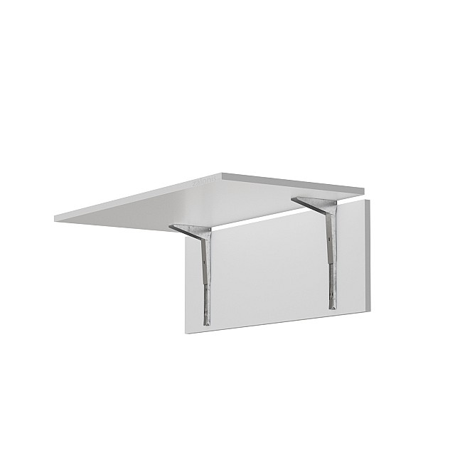 HINGED SPRING BRACKET FOR TABLE EXTENSION