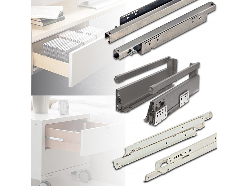 Drawer Runners and Systems
