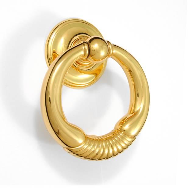MARGHERITA GOLD PLATED DOOR KNOCK