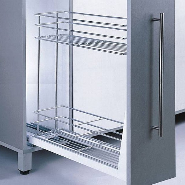PULL OUT BASE CABINET RACKS