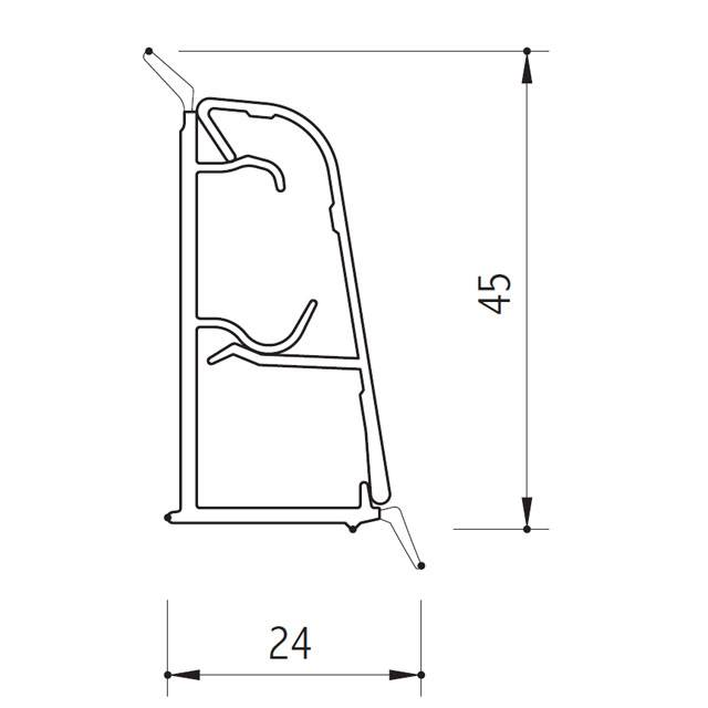 PROFILES 24x45
