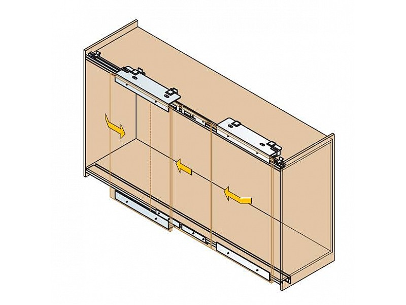 Rails for Sliding Wardrobes