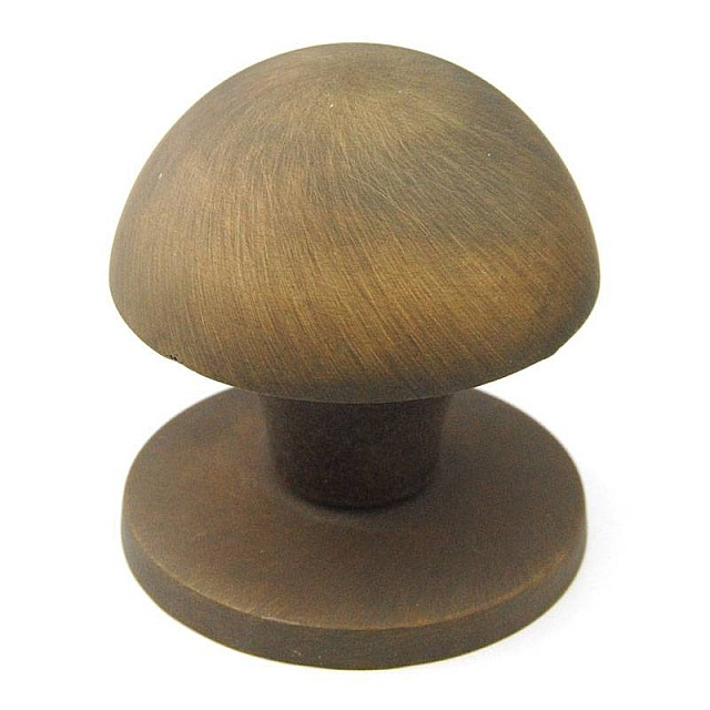 MUSHROOM DOOR KNOB / ANTIQUE