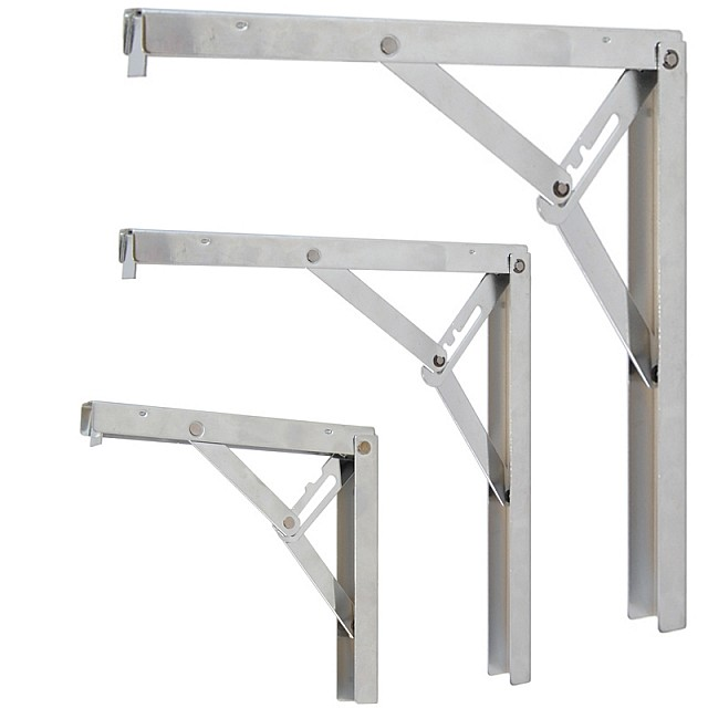 MULTIPLE POSITION FOLDING TABLE BRACKET