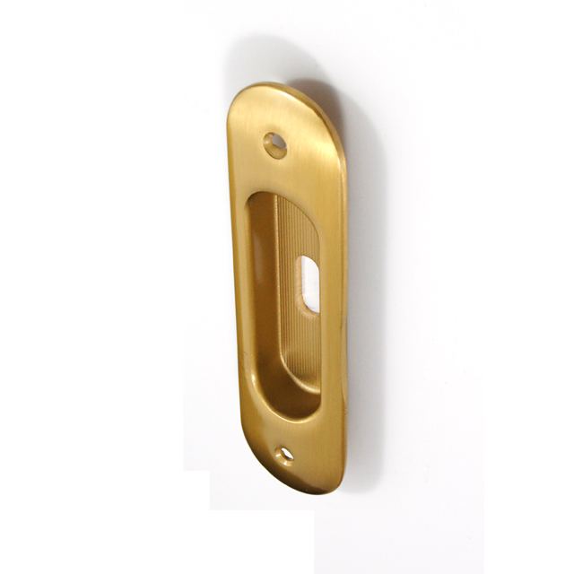 DANIELA MAT GOLD PULL FOR SLIDING DOOR WITH HOLE