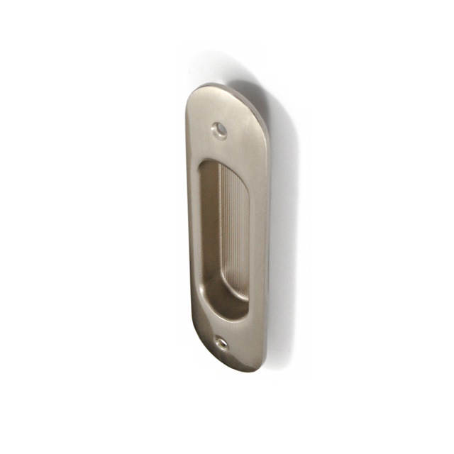 DANIELA MAT NICKEL PULL FOR SLIDING DOOR WITHOUT HOLE