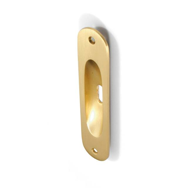 GAMMA MAT GOLD PULL FOR SLIDING DOOR WITH HOLE