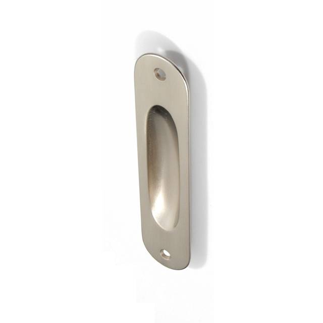 GAMMA MAT NICKEL PULL FOR SLIDING DOOR WITHOUT HOLE