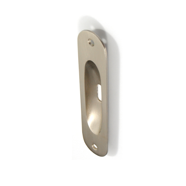 GAMMA MAT NICKEL PULL FOR SLIDING DOOR WITH HOLE