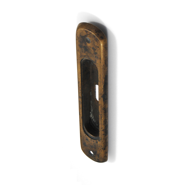 SABA ANTIQUE PULL FOR SLIDING DOOR WITH HOLE