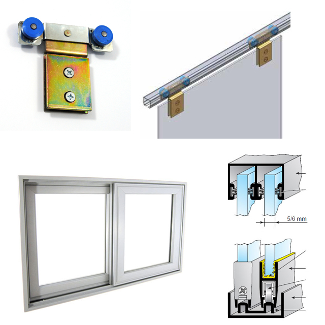 Sliding Glass Rails