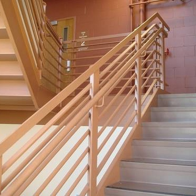 WOODEN RAILS AND HANDRAILS