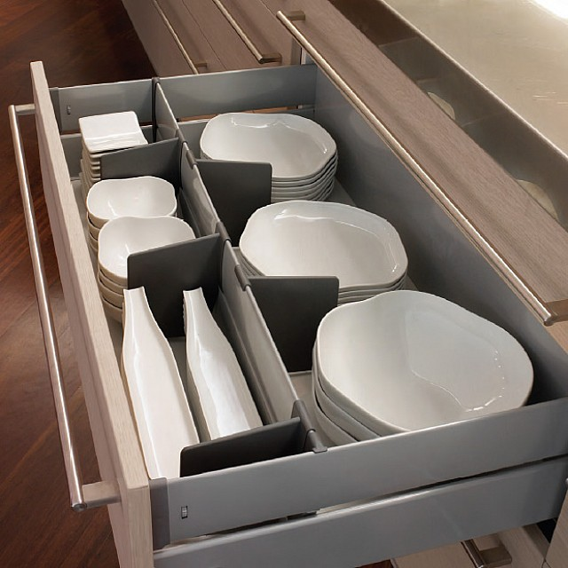 INDAUX METAL BOX SOFT CLOSING DRAWER