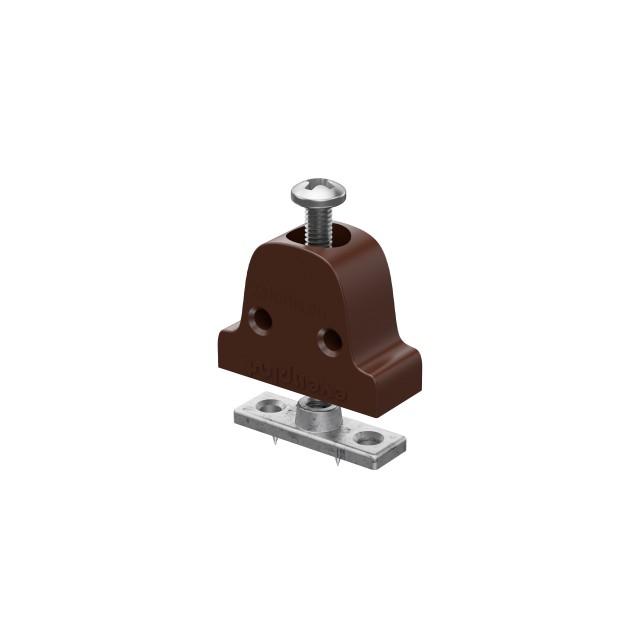 EXTERNAL FURNITURE BELL-SHAPE BRACKET / BROWN
