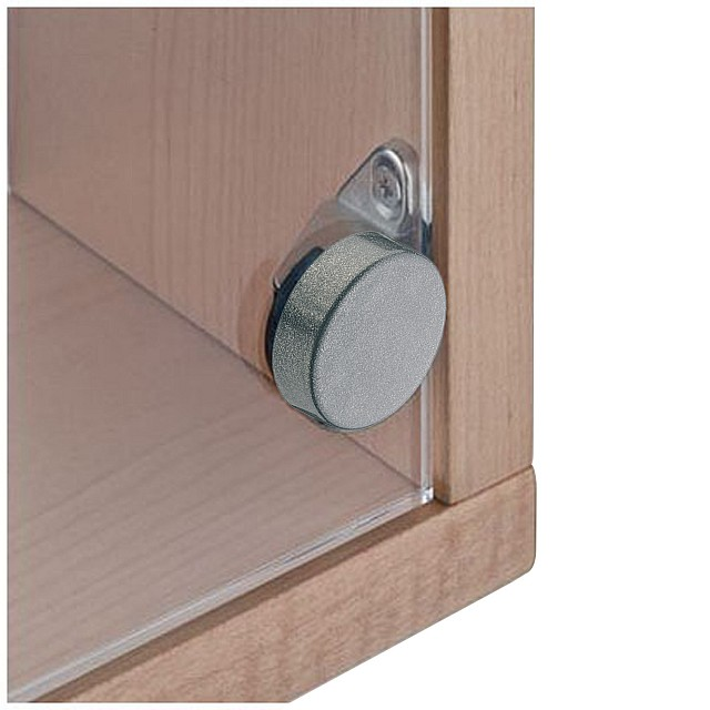 GLASS DOOR INSET HINGE D.26 WITH EMBEDDED BASE