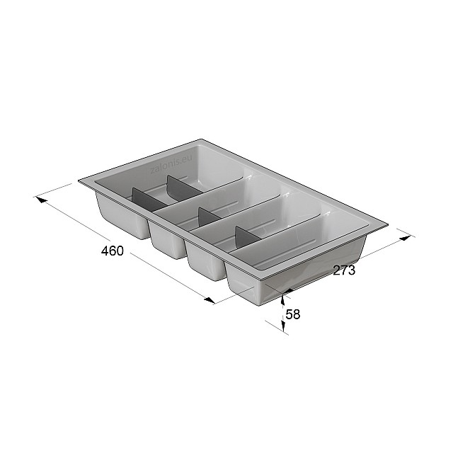 CUTLERY TRAY INDAUX / CABINET 35 (27,3x46)