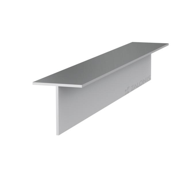 T-SHAPE ALUMINUM PROFILE 30x30 / 1.5mm / ANODISED
